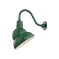 Millennium Lighting RES12-SG R Series Warehouse Emblem Shade Light in Satin Green