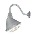 Millennium Lighting RAS12-GA R Series Angle Warehouse Shade Light in Galvanized