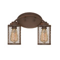 Millennium Lighting 3272-RBZ Akron Vanity Light in Rubbed Bronze