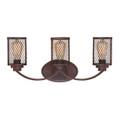 Millennium Lighting 3273-RBZ Akron Vanity Light in Rubbed Bronze