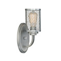 Millennium Lighting 3271-BPW Akron Wall Sconce in Brushed Pewter