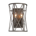 Millennium Lighting 2172-AS Lakewood Wall Sconce in Antique Silver