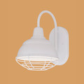 Millennium Lighting RWHWB8-WH R Series Wall Sconce in White