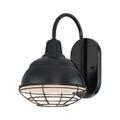 Millennium Lighting RWHWB8-SB R Series Wall Sconce in Satin Black
