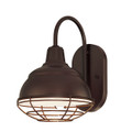 Millennium Lighting RWHWB8-ABR R Series Wall Sconce in Architectural Bronze