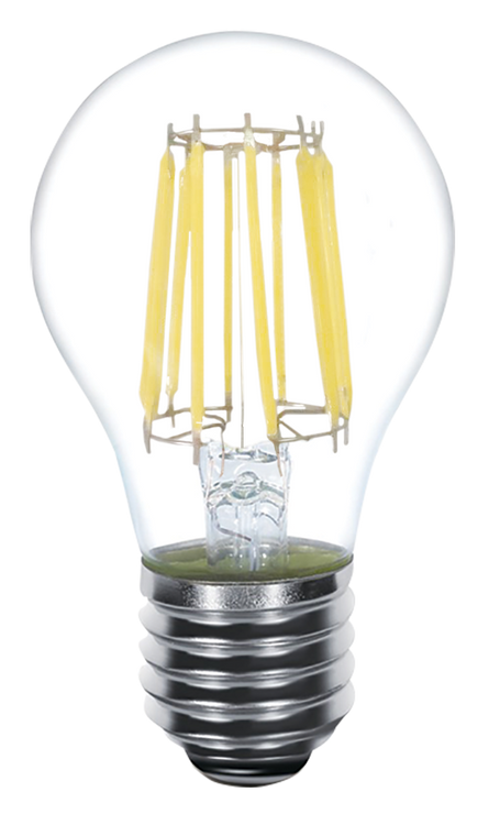 Kodak 41145 8W A19 LED 10 Filament 2700K Lightbulbs (Set of 2)