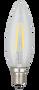Kodak 41067-UL 2W Candle Torpedo Lightbulbs (Set of 6)