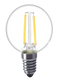 Kodak 41083-UL 4W G16.5 Clear 2 Inch Globe 2700K Lightbulbs (Set of 6)