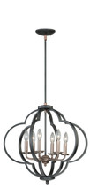 Vaxcel P0186 Amory 6 Light Pendant