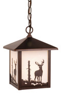 "Vaxcel OD33586BBZ Bryce 8"" Outdoor Pendant"