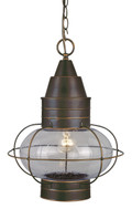 "Vaxcel OD21836BBZ Chatham 13"" Outdoor Pendant"