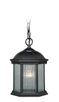 "Vaxcel T0131 Kingston Aluminum 6-1/4"" Outdoor Pendant"
