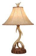 "Vaxcel TB33066NS Lodge 16"" Table Lamp"