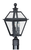 "Vaxcel T0082 Nottingham 9"" Outdoor Post Light"