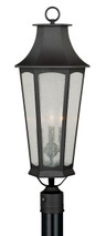 "Vaxcel T0118 Preston 10"" Outdoor Post Light"