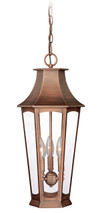 "Vaxcel T0122 Preston 10"" Outdoor Pendant"