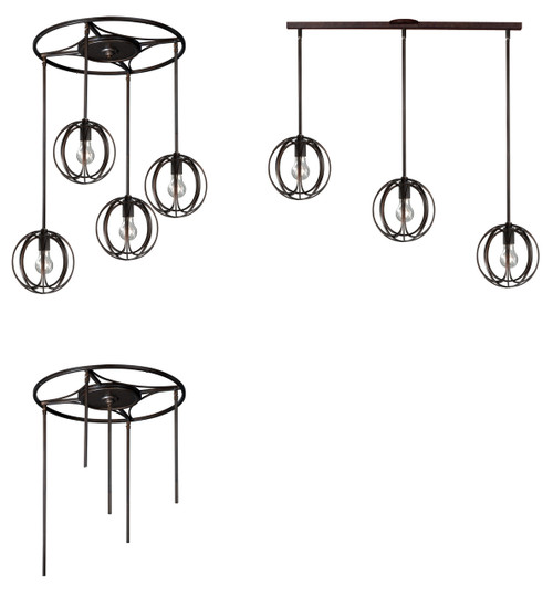 Vaxcel P0025 Solstice 5 Light Pendant Holder