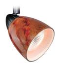 Vaxcel TP53401DB Veneto 3 Light Spot Light Pendant with Lava Swirl Glass