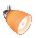 Vaxcel TP53413SN Veneto 3 Light Spot Light Pendant with Amber Wiped Glass