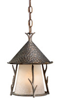 "Vaxcel WD-ODD090AA Woodland 9"" Outdoor Pendant"