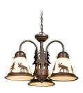 Vaxcel LK55616BBZ-C Yellowstone 3 Light Light Kit (Dual Mount)
