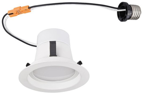 "Set of 6 Westinghouse 3104100 8 Watt (Replaces 65 Watt) 4"" Dimmable Recessed LED Downlight, ENERGY STAR"
