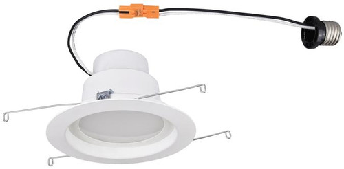 "Set of 6 Westinghouse 3104400 14 Watt (Replaces 80 Watt) 5"" Dimmable Recessed LED Downlight, ENERGY STAR"