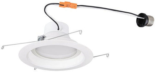 "Set of 6 Westinghouse 3104500 14 Watt (Replaces 80 Watt) 6"" Dimmable Recessed LED Downlight, ENERGY STAR"