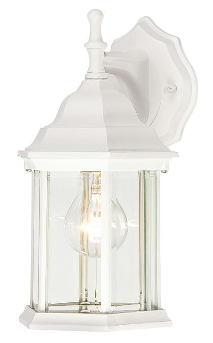Westinghouse Outdoor Lantern Light With Textured White Finish