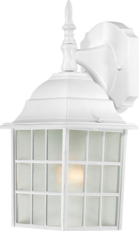 """NUVO Lighting 60/4904 Adams 1 Light 14"""" Outdoor Wall with Frosted Glass"""