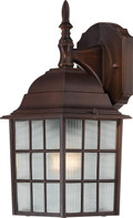 "NUVO Lighting 60/4905 Adams 1 Light 14"" Outdoor Wall with Frosted Glass"