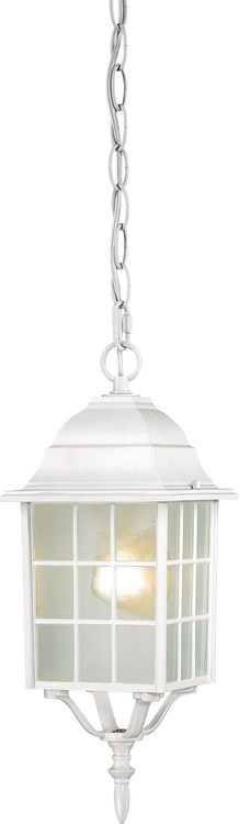 "NUVO Lighting 60/4911 Adams 1 Light 16"" Outdoor Hanging with Frosted Glass"
