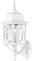 "NUVO Lighting 60/4924 Banyan 1 Light 17"" Outdoor Wall with Clear Water Glass"
