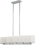 NUVO Lighting 60/4091 Bento 5 Light Island Pendant with Satin White Glass