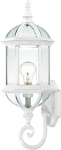 """NUVO Lighting 60/4971 Boxwood 1 Light 22"""" Outdoor Wall with Clear Beveled Glass"""