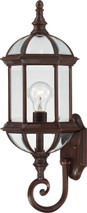 """NUVO Lighting 60/4972 Boxwood 1 Light 22"""" Outdoor Wall with Clear Beveled Glass"""