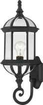 """NUVO Lighting 60/4973 Boxwood 1 Light 22"""" Outdoor Wall with Clear Beveled Glass"""