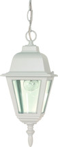 "NUVO Lighting 60/487 Briton 1 Light 10"" Hanging Lantern with Clear Glass"
