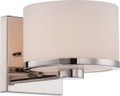 NUVO Lighting 60/5471 Celine 1 Light Vanity Fixture with Etched Opal Glass