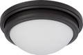 NUVO Lighting 62/535 Corry LED Flushmount Fixture with Frosted Glass