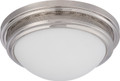 NUVO Lighting 62/536 Corry LED Flushmount Fixture with Frosted Glass