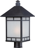 NUVO Lighting 60/5605 Drexel 1 Light Outdoor Post Fixture with Frosted Seeded Glass