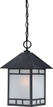 NUVO Lighting 60/5604 Drexel 1 Light Outdoor Hanging Fixture with Frosted Seeded Glass