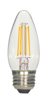 SATCO S9567 Set of 6 LED Filament LED Lightbulbs (2.5W/ETC/LED/27K/120V)