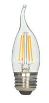 SATCO S9571 Set of 6 LED Filament LED Lightbulbs (2.5W/EFC/LED/27K/120V)