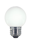 SATCO S9159 Set of 6 LED Globe Light LED Lightbulbs (1.4W/G16.5/WH/LED/120V/CD/E26)