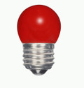 SATCO S9165 Set of 6 Sign & Indicator LED Lightbulbs (1.2W/S11/RED/LED/120V/CD)