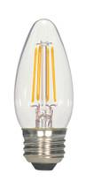 SATCO S9569 Set of 6 LED Filament LED Lightbulbs (4.5W/ETC/LED/27K/120V)