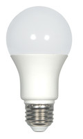 SATCO S9215 Set of 6 KolourOne LED Lightbulbs (7.6A19/OMNI/LED/5000K)