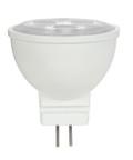 SATCO S9283 Set of 6 MR LED Lightbulbs (3MR11/LED/25'/5000K/12V)